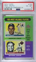 1955-Most Valuable Players (Yogi Berra, Roy Campanella) [PSA6EXR…