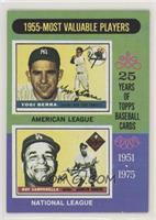 1955-Most Valuable Players (Yogi Berra, Roy Campanella)