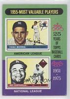 1955-Most Valuable Players (Yogi Berra, Roy Campanella) [Noted]