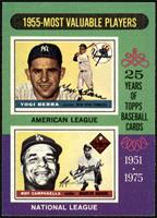1955-Most Valuable Players (Yogi Berra, Roy Campanella) [NM MT]