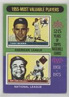 1955 Most Valuable Players (Yogi Berra, Roy Campanella) [Poor to Fair]