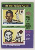 1955-Most Valuable Players (Yogi Berra, Roy Campanella) [PoortoFair]