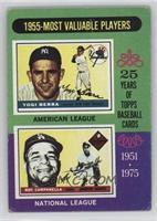 1955-Most Valuable Players (Yogi Berra, Roy Campanella) [Good to VG&#…
