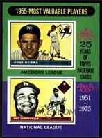1955-Most Valuable Players (Yogi Berra, Roy Campanella) [EXMT]