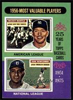 1956 Most Valuable Players (Mickey Mantle, Don Newcombe) [EXMT]
