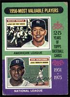 1956-Most Valuable Players (Mickey Mantle, Don Newcombe) [VG]