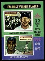 1956 Most Valuable Players (Mickey Mantle, Don Newcombe) [VGEX]