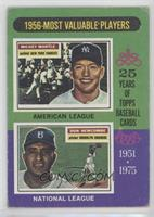 1956-Most Valuable Players (Mickey Mantle, Don Newcombe) [PoortoFai…