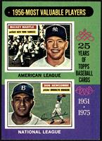 1956-Most Valuable Players (Mickey Mantle, Don Newcombe) [NM]