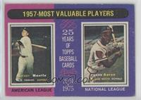 1957-Most Valuable Players (Mickey Mantle, Hank Aaron) [Good to VG…