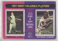 1957-Most Valuable Players (Mickey Mantle, Hank Aaron) [GoodtoVG…