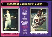 1957-Most Valuable Players (Mickey Mantle, Hank Aaron) [VGEX]