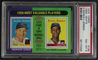 1958-Most Valuable Players (Jackie Jensen, Ernie Banks) [PSA8NMR…