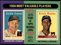 1958-Most Valuable Players (Jackie Jensen, Ernie Banks) [NM+]