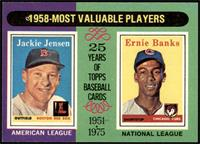 1958-Most Valuable Players (Jackie Jensen, Ernie Banks) [NM]