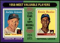 1958-Most Valuable Players (Jackie Jensen, Ernie Banks) [NM MT]