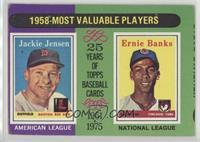 1958-Most Valuable Players (Jackie Jensen, Ernie Banks) [GoodtoVG&#…