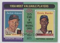 Jackie Jensen, Ernie Banks [GoodtoVG‑EX]