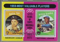 1959 Most Valuable Players(Nellie Fox, Ernie Banks) [GoodtoVG&#8209…