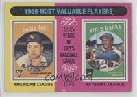 1959-Most Valuable Players (Nellie Fox, Ernie Banks) [PoortoFair]