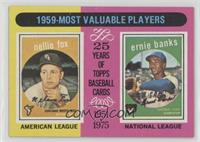 1959-Most Valuable Players (Nellie Fox, Ernie Banks)
