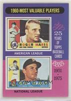 1960-Most Valuable Players (Roger Maris, Dick Groat)