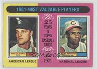 1961-Most Valuable Players (Roger Maris, Frank Robinson) [Poor to Fai…