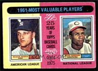 1961-Most Valuable Players (Roger Maris, Frank Robinson) [GOOD]