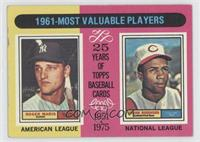 1961-Most Valuable Players (Roger Maris, Frank Robinson) [GoodtoVG&…