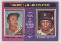 1962-Most Valuable Players (Mickey Mantle, Maury Wills) [Poor]