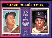 1962-Most Valuable Players (Mickey Mantle, Maury Wills) [NMMT]