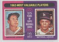 1962-Most Valuable Players (Mickey Mantle, Maury Wills) [Good to VG&#…
