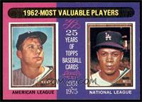 1962-Most Valuable Players (Mickey Mantle, Maury Wills) [EX MT]