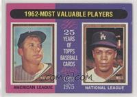 1962-Most Valuable Players (Mickey Mantle, Maury Wills) [GoodtoVG&#…