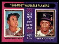 1962-Most Valuable Players (Mickey Mantle, Maury Wills) [NM]