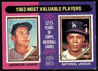 1962-Most Valuable Players (Mickey Mantle, Maury Wills) [VG EX]