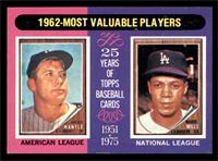 1962-Most Valuable Players (Mickey Mantle, Maury Wills) [EX]