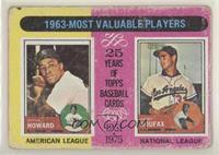 1963-Most Valuable Players (Sandy Koufax, Elston Howard) [NonePoort…