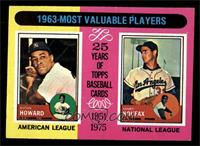 1963-Most Valuable Players (Sandy Koufax, Elston Howard) [NM]