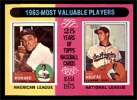 1963-Most Valuable Players (Sandy Koufax, Elston Howard) [EX]