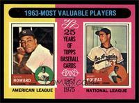 1963-Most Valuable Players (Sandy Koufax, Elston Howard) [NMMT]