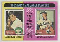 1963-Most Valuable Players (Sandy Koufax, Elston Howard)