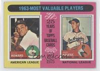 1963-Most Valuable Players (Sandy Koufax, Elston Howard) [Good to VG&…