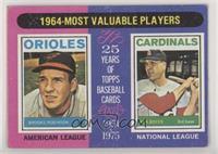 1964-Most Valuable Players (Brooks Robinson, Ken Boyer) [PoortoFair]