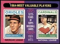 1964-Most Valuable Players (Brooks Robinson, Ken Boyer) [NM]