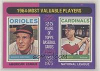 1964-Most Valuable Players (Brooks Robinson, Ken Boyer)