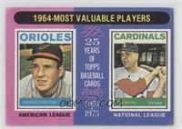 1964-Most Valuable Players (Brooks Robinson, Ken Boyer) [GoodtoVG&#…