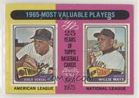1965-Most Valuable Players (Zoilo Versalles, Willie Mays) [PoortoFa…