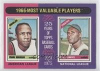 1966 Most Valuable Players (Frank Robinson, Roberto Clemente)
