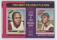 1966 Most Valuable Players (Frank Robinson, Roberto Clemente) [Good to&nbs…